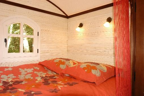Chambre d'hote Calvados - Le grand lit clos de 160
