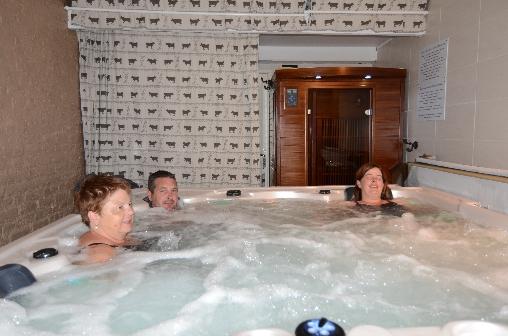 Jacuzzi et sauna infrarouges