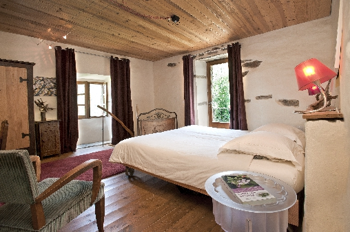 bed & breakfast Lozère - room Cypres la source de castagnols