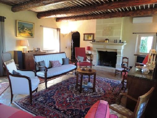 Chambre d'hote Vaucluse - Notre salle de séjour