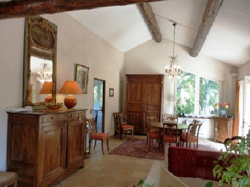Chambre d'hote Vaucluse - Lieu de la Table d'hôte