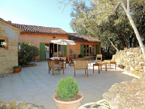 bed & breakfast Vaucluse - Our terrace of 157m ²