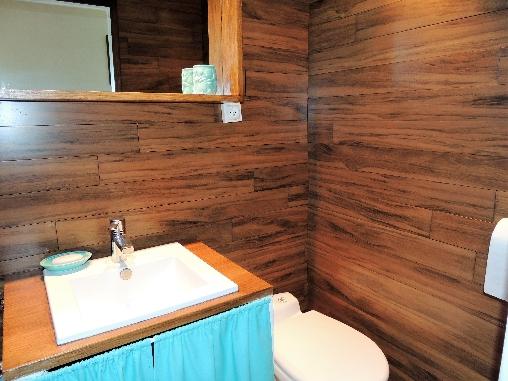 Chambre Turquoise salle d'eau