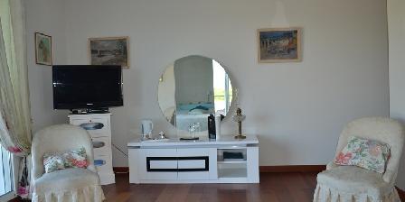 La Cadanellau Chambre JASMIN coin salon