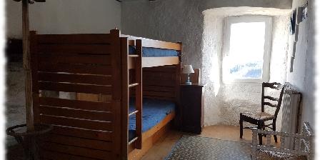 Oustaou de Joséphine Suite Sud lits superposés de l'Oustaou
