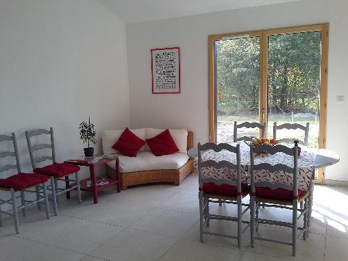 bed & breakfast Gironde - Living room