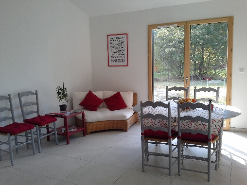 Chambre d'hote Gironde - Salon