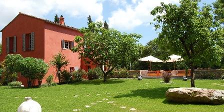 Villa Chandra Vue jardin