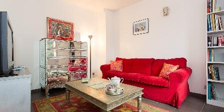 Villa Chandra Tv room