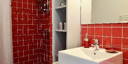 Villa Chandra Bathroom of Room Baga