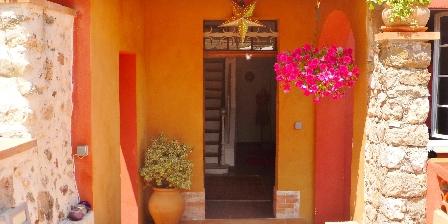 Villa Chandra Front entrance of Villa Chandra
