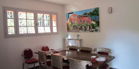 Villa Chandra Dining room of Villa Chandra
