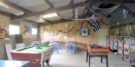 Gîte Ty Izella Salle de jeux