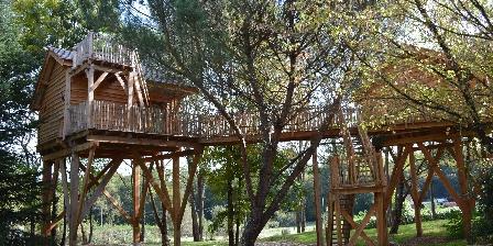 Domaine Ecôtelia Cabane dans les arbres en Gironde