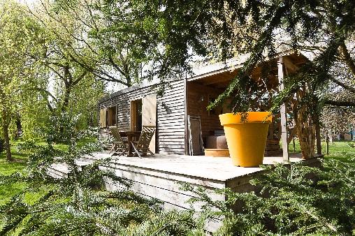 Cabane avec spa en Gironde