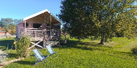 Chambre d'hotes Domaine Ecôtelia > Tente Safari en Gironde
