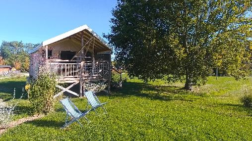 Tente Safari en Gironde