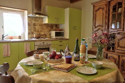 Chambre d'hote Finistère - Séjour - coin repas