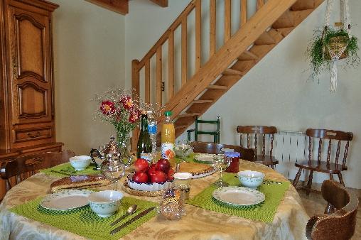 Chambre d'hote Finistère - coin repas