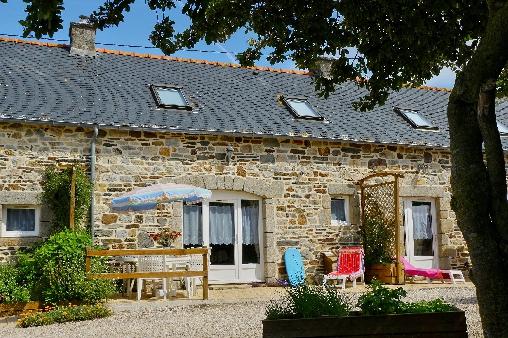 Chambre d'hote Finistère - Façade  du Gîte