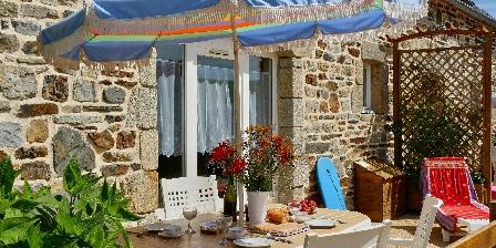 Gîte Ty Bihan Façade et terrasse