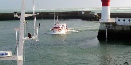 Gîte Ty Uhella Arrivée ves 17 h. des bateaux au Guilvinec