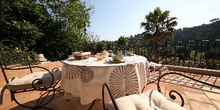 Villa Pagnol Terrace 2 rooms Rose