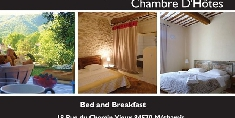 Chambres d'hotes Vaucluse, 80€+