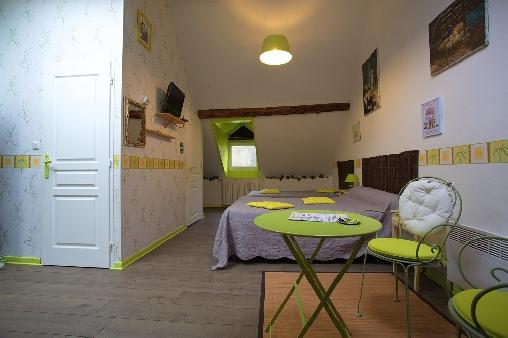 Chambre d'hote Hautes-Pyrénées - chambre Anis