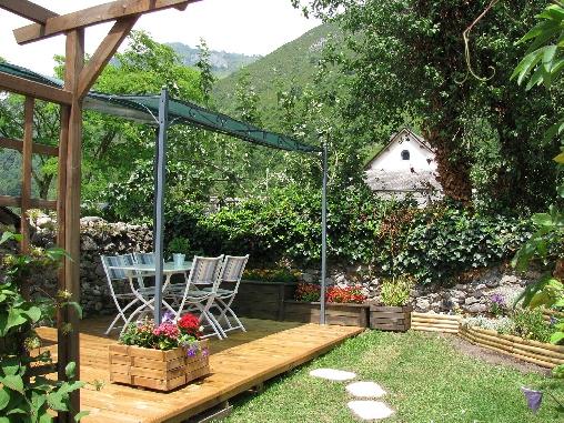 Chambre d'hote Hautes-Pyrénées - Le jardin