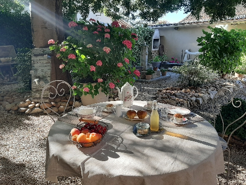 bed & breakfast Vaucluse - Breakfast