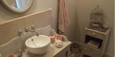 L'Oréliane en Provence Salle de douche Muscadine