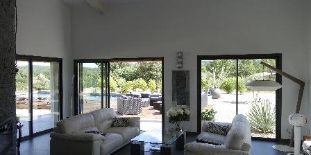 Villa Otilia Salon sur piscine