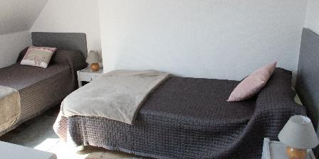 Gîte 6 Pers Bénodet Wifi Mer Chambre avec 2 lits 90X200