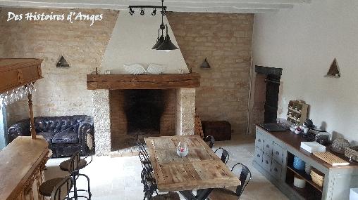 Chambre d'hote Saône-et-Loire - Salle à manger