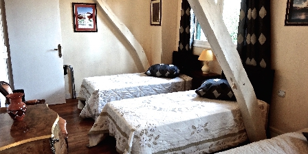 Grande Villa du Chateau en Touraine Chambre