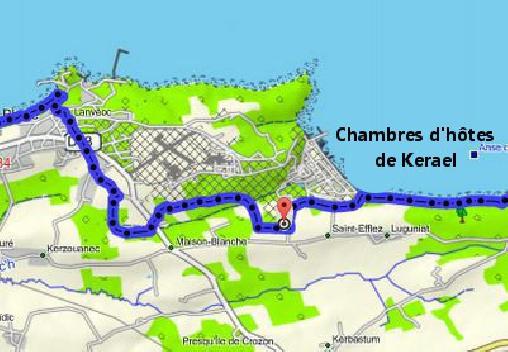 Chambre d'hote Finistère - Les Chambres de Kerael, Chambres d`Hôtes Crozon (29)