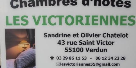 Les Victoriennes Les Victoriennes, Chambres d`Hôtes Verdun (55)
