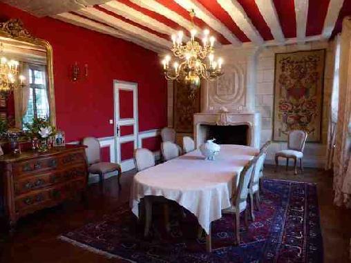 Manoir Plessis Bellevue, Chambres d`Hôtes Saumur (49)