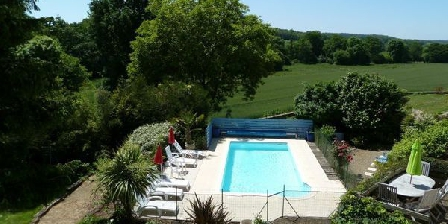 La Forge - Brittany Holiday Cottage With Heated Swimming Pool And Gym La Forge - Brittany Holiday Cottage With Heated Swimming Pool And Gym, Gîtes Baud (56)
