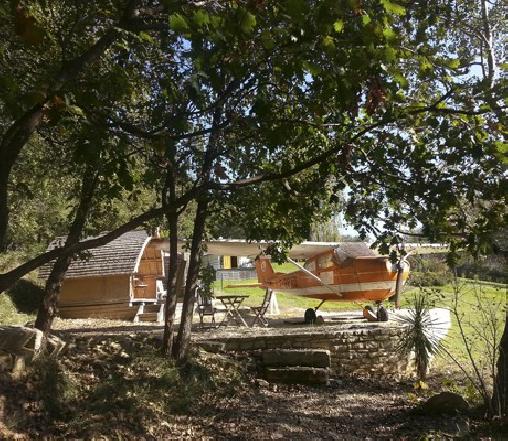 Natura Lodge, Chambres d`Hôtes Barjac (30)