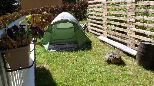 Chambre d'hote Isère - Les Arts ont la Cote, Le mini camping (38)