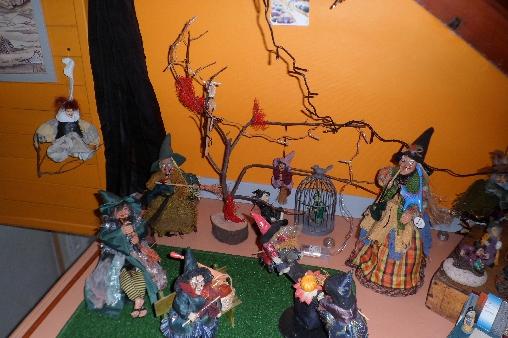 Chambre d'hote Isère - Les Arts ont la Cote, jardin de sorcières (38)