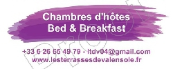 Bed and breakfast Les Terrasses de Valensole