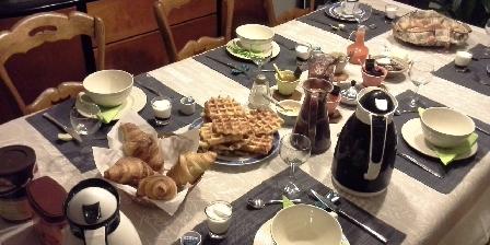 Le Logis du Four Petit déjeuner intérieur