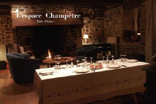 L'Espace Champêtre, Chambres d`Hôtes Saint-Sylvain (19)