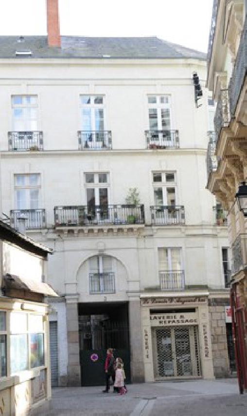 Gite de Centre-Ville, Gîtes Nantes (44)