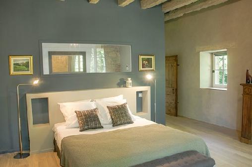 Chambre Azul Les Hauts de Sauliès