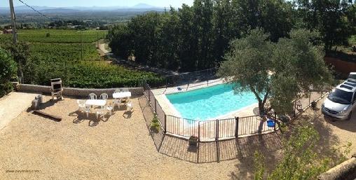 La Villa Peyrolas, Gîtes Saint-Julien De Peyrolas (30)