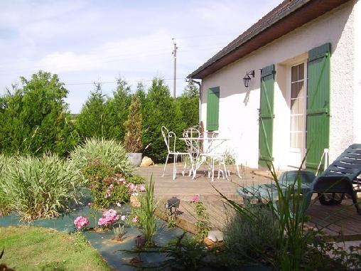 Chambre d'hote Sarthe - Les Terrasses du Léard, Chambres d`Hôtes Neuville Sur Sarthe (72)